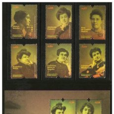 Sellos: PORTUGAL 2009 - WOMEN OF THE PORTUGUESE REPUBLIC STAMP SET MNH. Lote 213830573