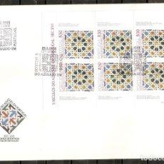 Sellos: PORTUGAL.1981. FDC. YT 1514A. 5 SIGLOS DEL AZULEJO. Lote 216563110