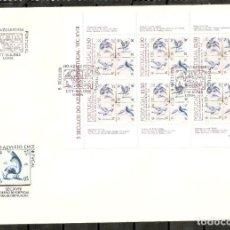 Sellos: PORTUGAL.1983. FDC. YT 1582A. 5 SIGLOS DEL AZULEJO. Lote 216563843