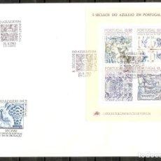 Sellos: PORTUGAL.1983. FDC.HB. YT 43. 5 SIGLOS DEL AZULEJO. Lote 216564275