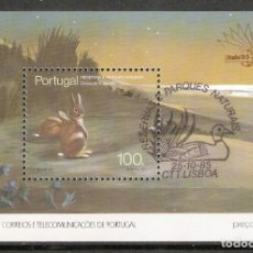 Timbres: PORTUGAL.1985. HB. YT 49. FAUNA. Lote 216566343