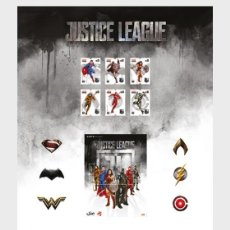 Sellos: PORTUGAL 2020 - JUSTICE LEAGUE - FIRST DAY SHEET MNH. Lote 217705407