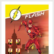 Sellos: PORTUGAL 2020 - PERSONALIZED STAMPS DC COMICS - FLASH - COLLECTORS SHEET. Lote 217705757