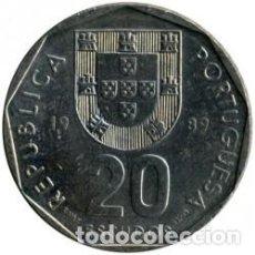 Sellos: 20 ESCUDOS DE PORTUGAL. Lote 218745735