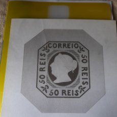Sellos: LAMINA PORTUGAL PRIMERA EMISIÓN 1853 SELLO DOÑA MARIA II FILCOIN. Lote 218968740