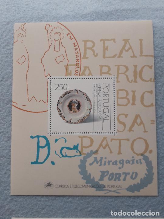 Sellos: Lote de 4 Hojas Bloque. Portugal. Nuevas. - Foto 2 - 219082795