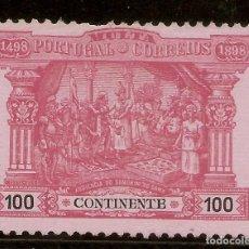 Sellos: PORTUGAL TASAS YVERT 5 (º) 100 REALES ROSA CENTENARIO LAS INDIAS NL1645. Lote 221891035