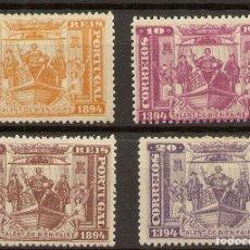 Sellos: PORTUGAL YVERT 96/99*/(*) SERIE COMPLETA HENRIQUE AVIZ 1894 NL1591. Lote 222521376