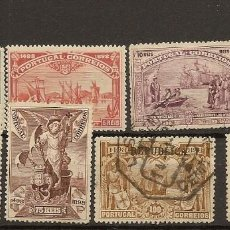 Sellos: PORTUGAL YVERT 146/153 (º)/* SERIE COMPLETA VASCO DE GAMA 1898 NL431. Lote 222554565