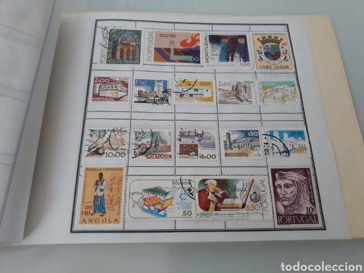 Sellos: Colección sellos Portugal con y sin matasellos - Foto 2 - 223318415