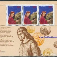 Sellos: HB USADA DE PORTUGAL, EUROPA 1997 YT 128. Lote 226884950