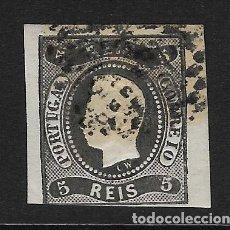 Sellos: PORTUGAL - CLÁSICO. YVERT Nº 18 USADO Y DEFECTUOSO. Lote 226921721