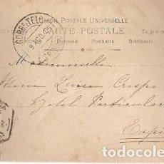 Sellos: PORTUGAL & MARCOFILIA, FANTASIA LOS PRIMEROS JUEGOS, LISBOA A ESPINHO 1905 (1071). Lote 227070715
