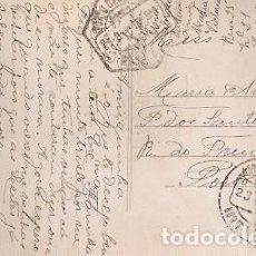 Sellos: PORTUGAL & CIRCULADO, FANTASIA, DE AMBULANCIA PORTO 1915 (7507). Lote 227072745