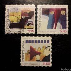 Sellos: PORTUGAL YVERT 1416/8 SERIE COMPLETA MAYORÍA USADA 1979 CAMPAÑA CONTRA EL RUIDO. PEDIDO MÍNIMO 3 €. Lote 227785000