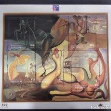 Sellos: HOJA BLOQUE PORTUGAL AÑO 1999 PHILEXFRANCE 99' CINCUENTENARIO DEL SURREALISMO EN PORTUGAL. Lote 227987865