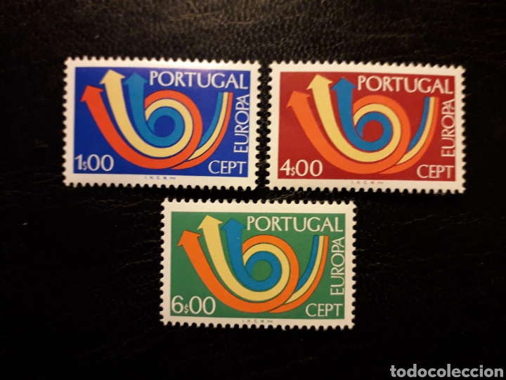 PORTUGAL YVERT 1179/81 SERIE COMPLETA NUEVA *** 1973. EUROPA CEPT. PEDIDO MÍNIMO 3 EUROS (Sellos - Extranjero - Europa - Portugal)