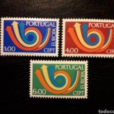 Sellos: PORTUGAL YVERT 1179/81 SERIE COMPLETA NUEVA *** 1973. EUROPA CEPT. PEDIDO MÍNIMO 3 EUROS. Lote 228912190