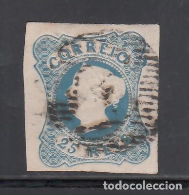 PORTUGAL, 1853 YVERT Nº 2, D. MARIA II. 25 R AZUL (Sellos - Extranjero - Europa - Portugal)