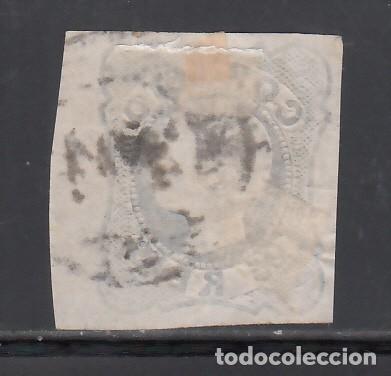 Sellos: PORTUGAL, 1855-56 YVERT Nº 6, D. Pedro V . 25 r azul - Foto 2 - 231833580