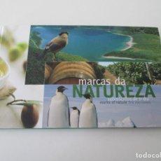 Sellos: ER* PORTUGAL * CARPETA CON SOBRES DE PRIMER DIA * MARCAS DE NATURALEZA. Lote 233441310