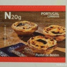 Sellos: PORTUGAL DEDICADO A LA NATA PASTEL DE BELEM. Lote 233880835