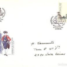 Sellos: SPD -FDC, PORTUGAL, 1983, UNIFORMES MILITARES. Lote 235456860
