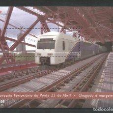 Sellos: SELLOS DE PORTUGAL AÑO 1999. HOJAS BLOQUE Nº 158 Y 159 CATÁLOGO YVERT NUEVAS. Lote 238698670