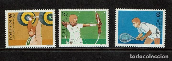SERIE DE JUEGOS OLÍMPICOS DE SEUL 1988 (Sellos - Extranjero - Europa - Portugal)