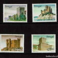 Sellos: SERIE DE CASTILLOS 1988 PORTUGAL. Lote 239445450