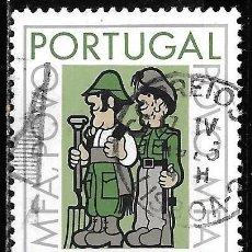 Sellos: PORTUGAL 1975. COOPERACIÓN FUERZA ARMADAS-POBLACIÓN. YT 1252. Lote 244408150
