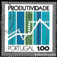 Sellos: PORTUGAL 1973. CONGRESO DE PRODUCTIVIDAD PORTUGUESA. YT 1176. Lote 244751620