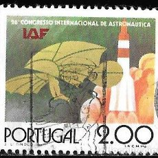 Sellos: PORTUGAL 1975. CONGRESO INTERNACIONAL DE ASTRONÁUTICA. YT 1271. Lote 244752220