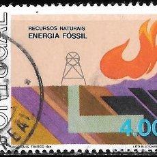 Sellos: PORTUGAL 1976. RECURSOS NATURALES. ENERGÍA FÓSIL. YT 1324. Lote 244752885