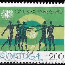 Sellos: PORTUGAL 1975. 30 ANIVERSARIO NACIONES UNIDAS. ONU. YT 1268. Lote 244755455