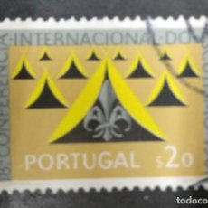 Sellos: PORTUGAL 1961. 18TH INTERNATIONAL CONFERENCE OF SCOUTING. YT:PT 898,. Lote 244923255