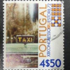 Sellos: PORTUGAL 1972. 13TH INTERNATIONAL ROAD TRANSPORT UNION CONGRESS, ESTORIL. YT:PT 1154,. Lote 244924665