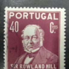 Sellos: PORTUGAL 1940. SIR ROWLAND HILL 40 C. YT:PT 603,. Lote 244925750