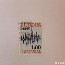 Sellos: PORTUGAL SELLO USADO TEMA EUROPA. Lote 244978760