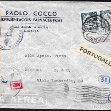 Sellos: CENSURA MILITAR EN CARTA DE PORTUGAL -. Lote 246000550