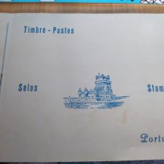 Sellos: ALBUM SELLOS PORTUGAL, MOZAMBIQUE CABO VERDE. Lote 246087935