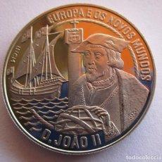Sellos: UNION EUROPEA . PORTUGAL . 2 1/2 ECUS DEL AÑO 1992 . ACABADO PROOF . NUEVA. Lote 254149780