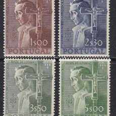 Sellos: SELLOS PORTUGAL AÑO 1955 NUEVOS VER FOTOS VALOR CAT 160 EUROS. Lote 254818820