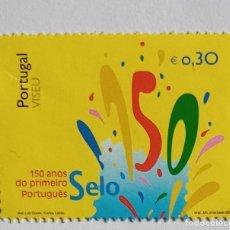 Sellos: PORTUGAL 2003,150 ANOS DO PRIMEIRO SELO PORTUGUES. Lote 255541805