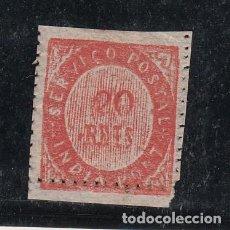 Sellos: INDIA PORTUGUESA .16 DENTADO DESPLAZADO SIN GOMA,. Lote 257307220