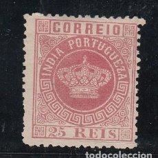 Sellos: INDIA PORTUGUESA .44A SIN GOMA,. Lote 257311120