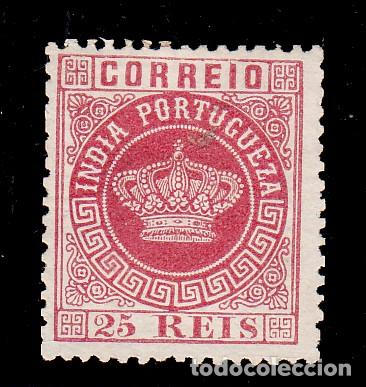 INDIA PORTUGUESA .44A SIN GOMA, (Sellos - Extranjero - Europa - Portugal)