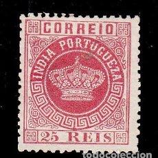 Sellos: INDIA PORTUGUESA .44A SIN GOMA,. Lote 257311270