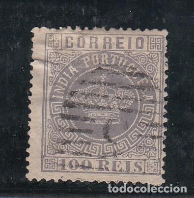INDIA PORTUGUESA .47A USADA, (Sellos - Extranjero - Europa - Portugal)