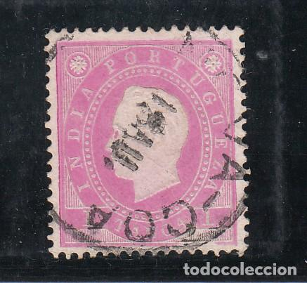INDIA PORTUGUESA 127B USADA, (Sellos - Extranjero - Europa - Portugal)